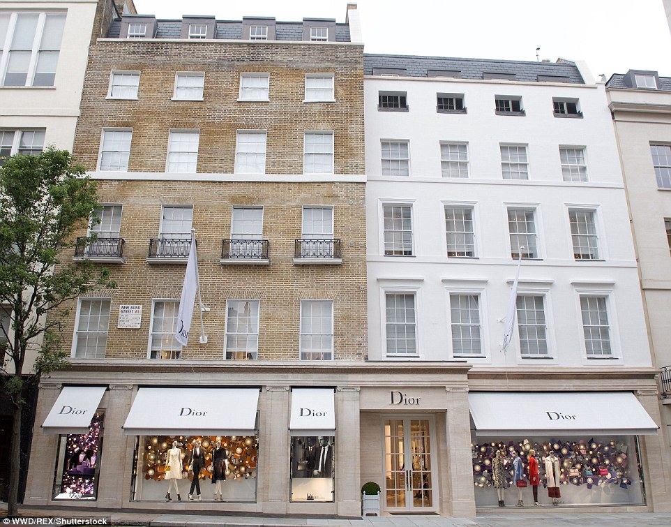 Christian Dior flagship store in London