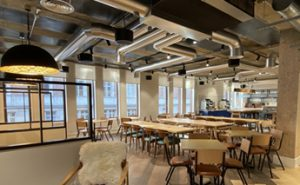 EVS Supports Training Centre Fit Out with Exposed Ductwork Installation in Central London